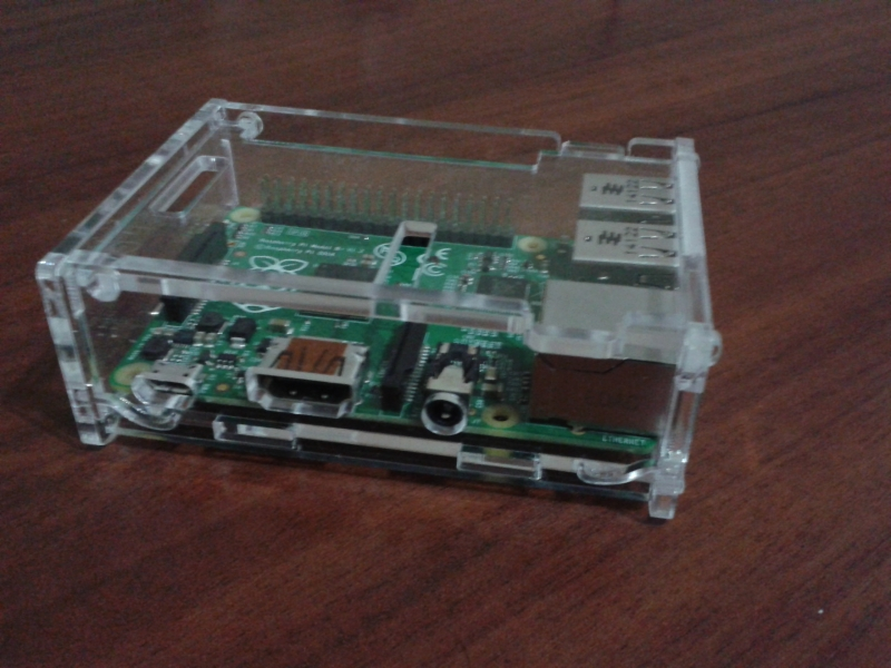 transparent acrylic shell case enclosure for raspberry pi. Black Bedroom Furniture Sets. Home Design Ideas