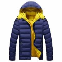 4 Colors Plus Size M-3XL Winter Jacket Men's Coat Brand Man Hooded Clothes