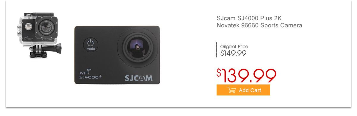 SJcam SJ4000 Plus 2K Novatek 96660 Sports Camera
