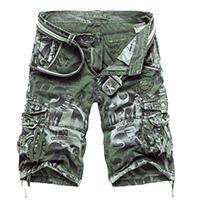 Men's Camouflage Cargo Short Pants