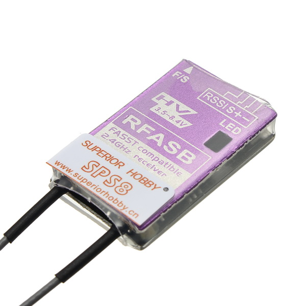 Superior Hobby RFASB Receiver For Futaba Fasst SBUS T8G 14SG 18MZ