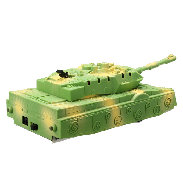 JJRC Children Puzzle Toy Battle Military Wall Climbing RC Tank With Color Green and Blue For Kid