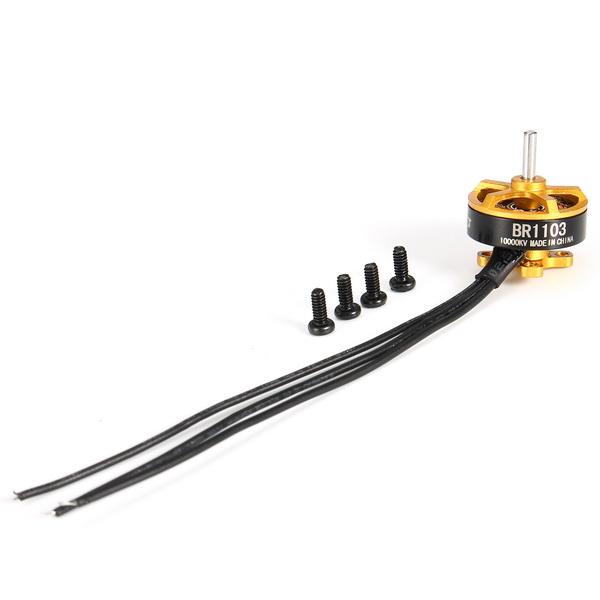 Racerstar Racing Edition 1103 BR1103 10000KV 1-2S Brushless Motor Gold For 50 80 100 RC Multirotor