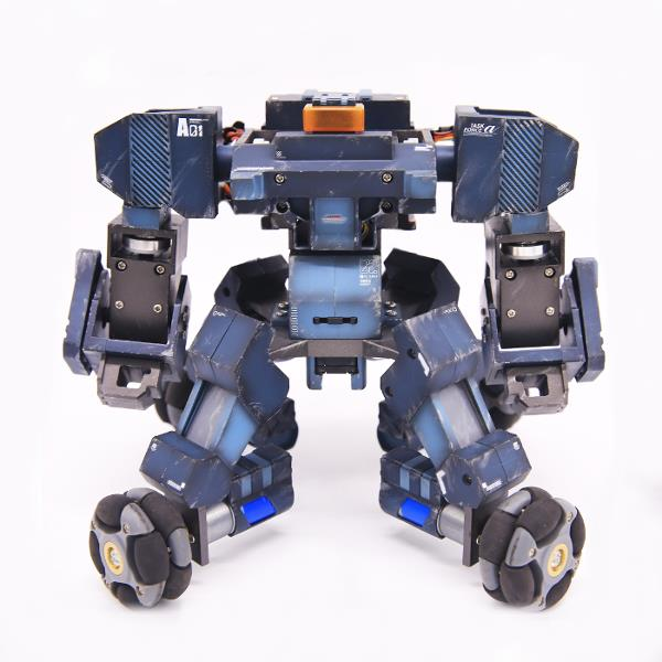 GJS GANKER Composite Blue Programmable Fighting Intelligent Robot Super Kit