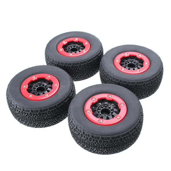 AUSTAR 4PCS Tire Not Glued For RC Car 1/10 Short Course/Desert AX-3008