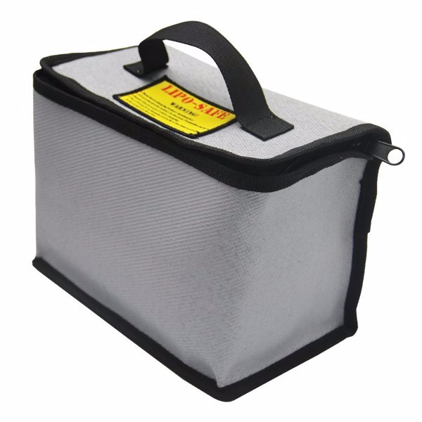 YDL2043 LiPo Battery Portable Explosion-Proof Safety Bag With Zipper 215x155x115mm