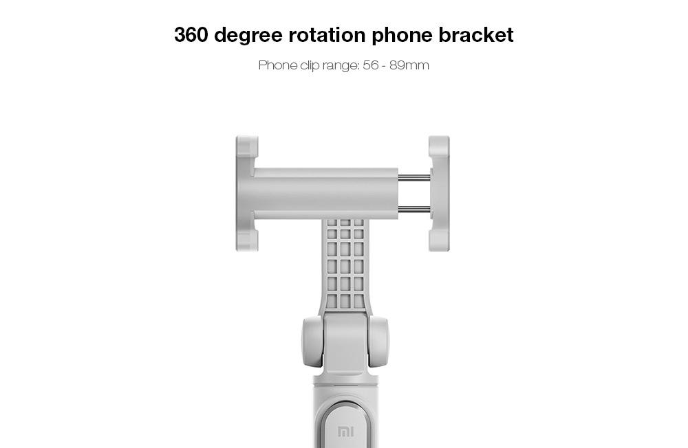 Original Xiaomi 2 in 1 Bluetooth Mini Extendable Folding Tripod Selfie Stick For Mobile Phone