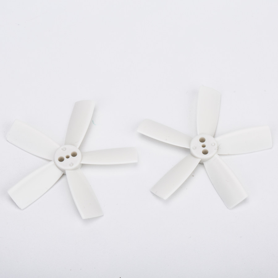 10 Pairs Racerstar 1935 50mm 5 Blade Racing Propeller 1.5mm Mounting Hole For Micro FPV Frame