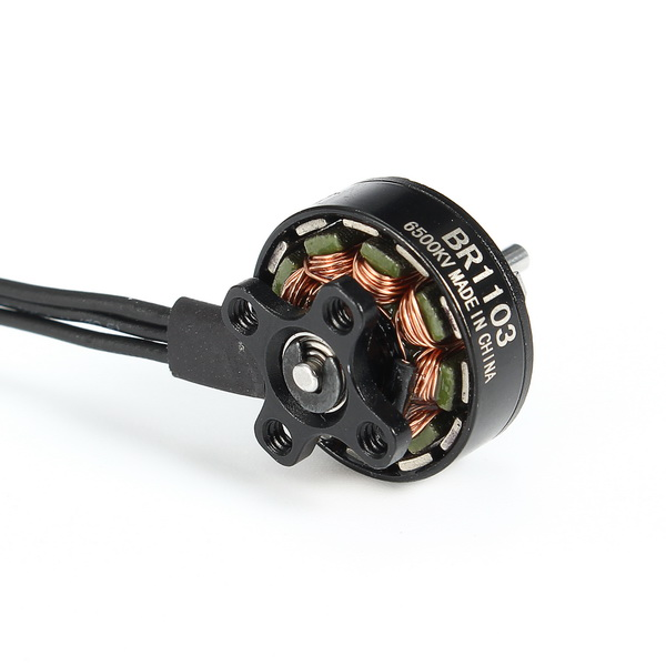 Racerstar Racing Edition 1103 BR1103 6500KV 1-2S Brushless Motor Black For 50 80 100 RC Multirotor