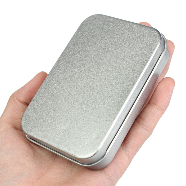 Metal Tin Flip Storage Box Case Organizer For RC Models