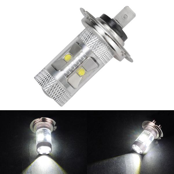 H7 DC12V 30W 650LM Super White LED Fog Light Bulb