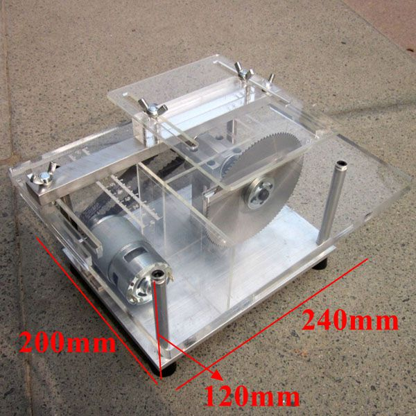 Diy Mini Bench Table Saw Handmade Woodworking Model Saw