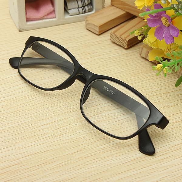 Black Matte Surface Reading Glasses Portable Reading Glasses