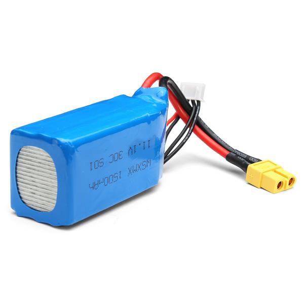 WSX WSXMX 11.1V 30C 1500mAh Battery For QAV250 Frame Kit