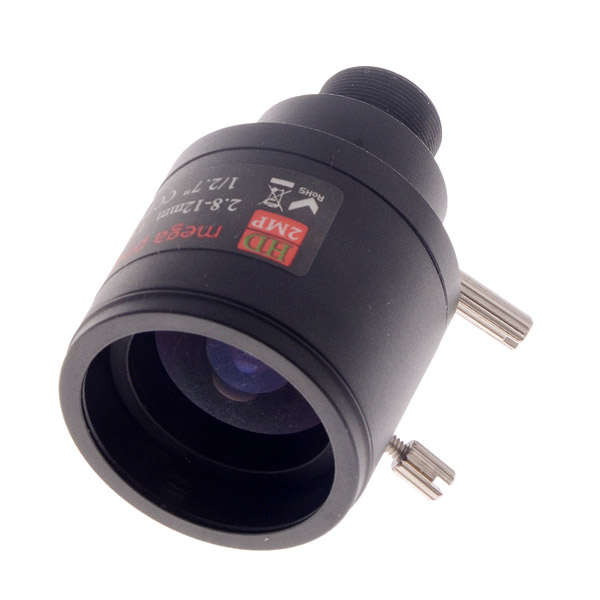 700TVL 2.8-12mm 1/3 Sony CCD Manual Zoom Camera Lens FPV купить