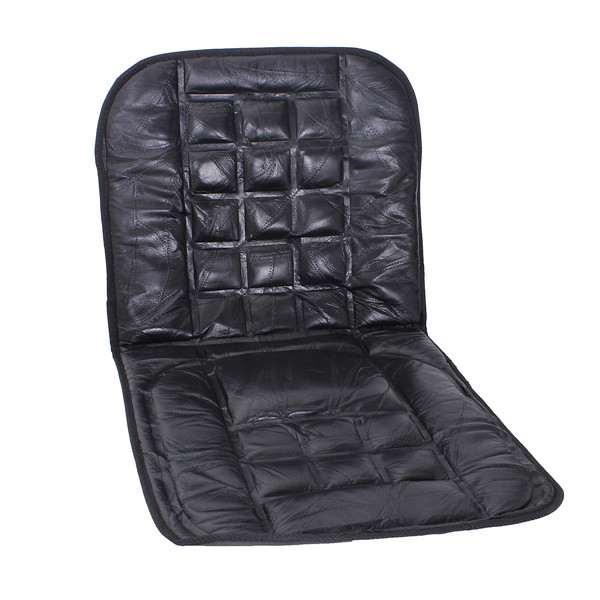 Buy Leather Back Support Front Seat Cover Cushion Chair Massage For Auto