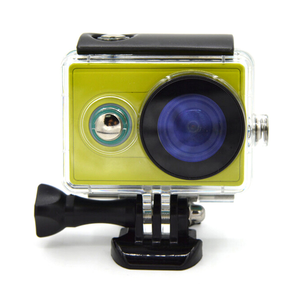 цены Waterproof Case for Xiaomi Yi Sports Camera Diving 40M Back Up Case