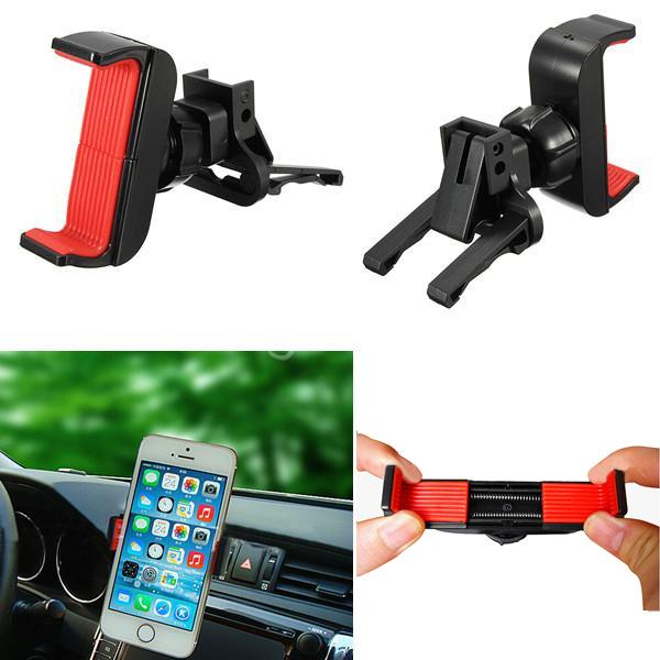 Anti-slip Adjustable Car Air Vent Mount Holder For All Mobile Phone