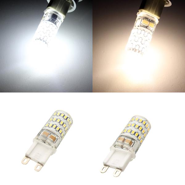 G9 2.8W 45 SMD 3014 LED Corn Lamp Crystal Spotlight Bulb AC 220-240V от Banggood INT