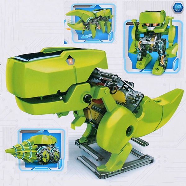4 In 1 Solar Robot Educational Model Building Kits DIY