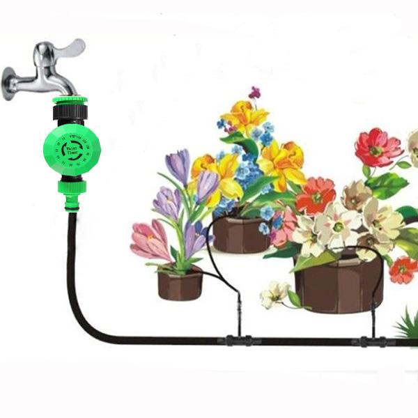 2 heures automatique d 39 arrosage tuyau d 39 eau jardin for Arrosage jardin automatique