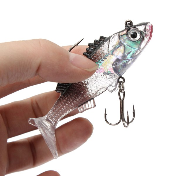7.6cm 15g Paillette Fishing Lures Soft Lure Crankbaits Tackle Hooks trulinoya 2secs baitcasting fishing rod 2 13m m lure wt 5 21g carbon lure rods fuji accessories action fast pesca stick tackle