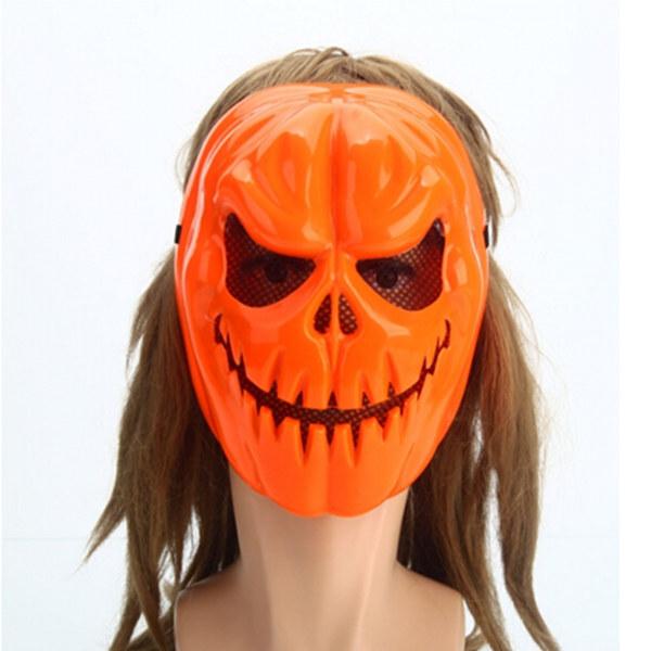 Как сделать маску тыква