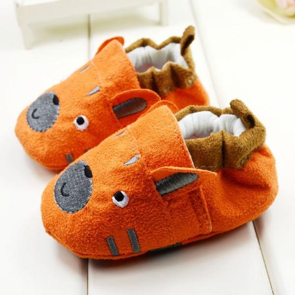 Baby Toddler Cartoon Shoes Soft Sole Anti-slip Prewalker