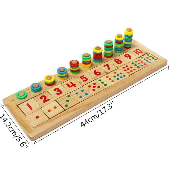 Children Number Mathematic Teaching Wooden Developmental Toys