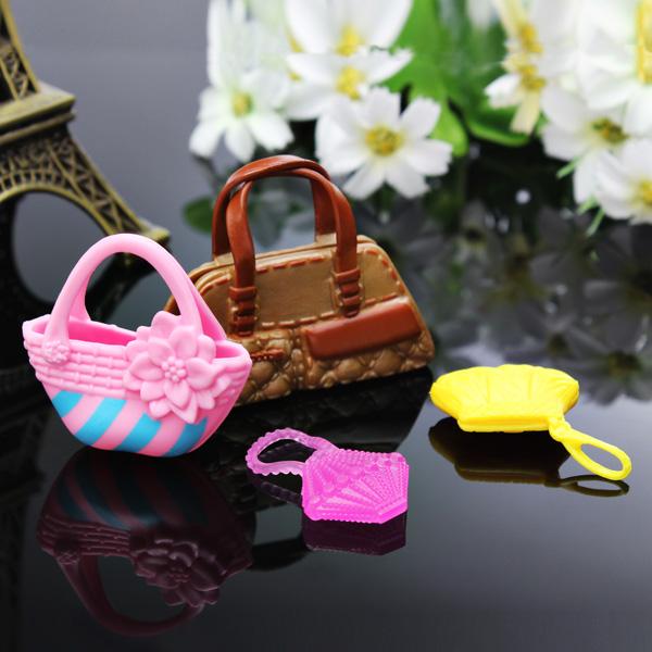 Baby Children Barbie Doll Handbag Accessories Birthday Gift