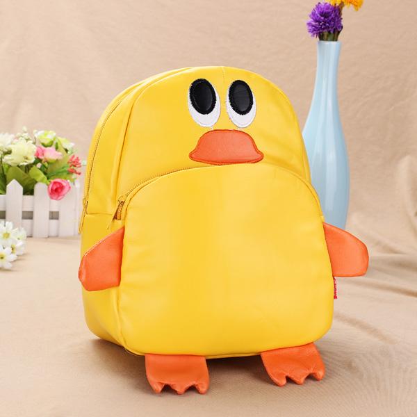Baby Children Duck Backpacks Cartoon School Bag Bookbag