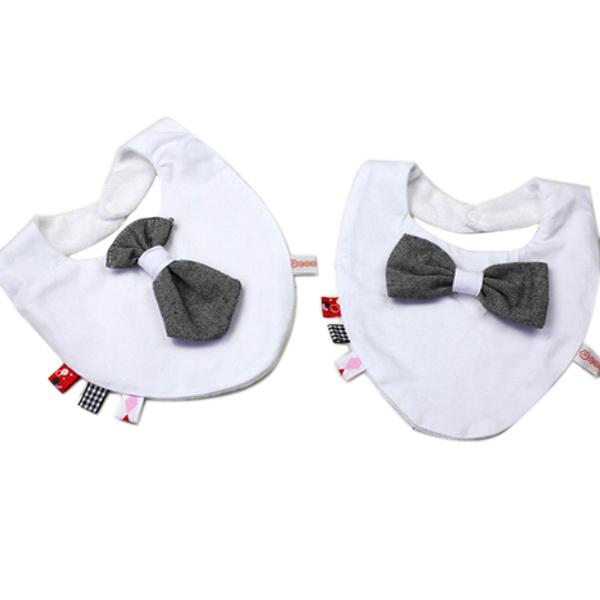 Baby Children Ladies Gentlemen Pattern Waterproof Soft Eating Bib