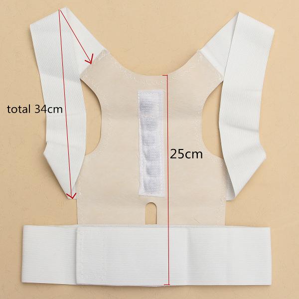 Back Support Brace Belt Magnet Therapy Posture Shoulder Corrector