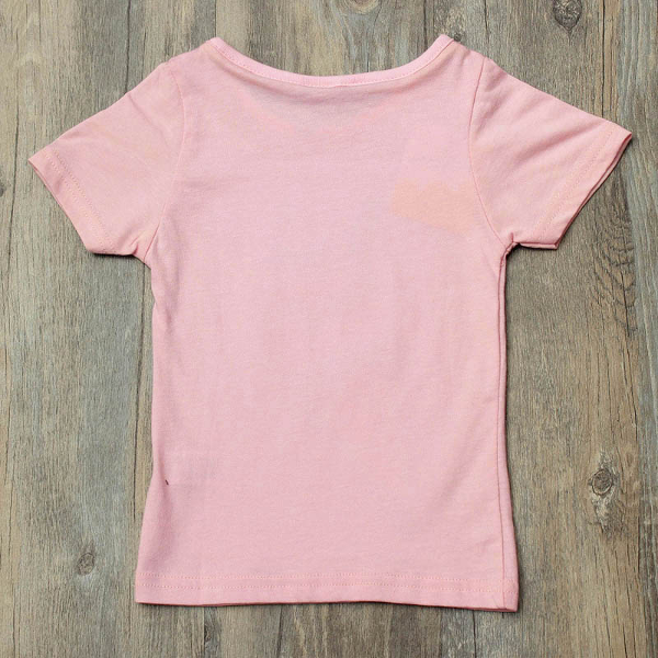 Baby Girls Summer Cream T-Shirts Short Sleeve Tops