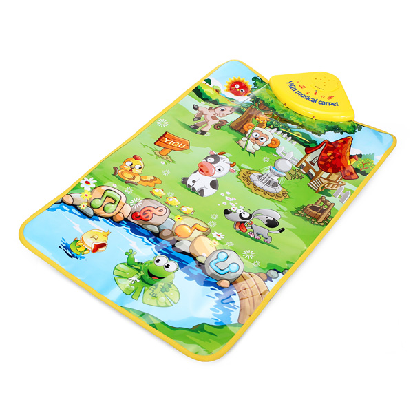 Baby Animal Farm Musical Mat Touch Singing Carpet Kids Educational Toy от Banggood INT