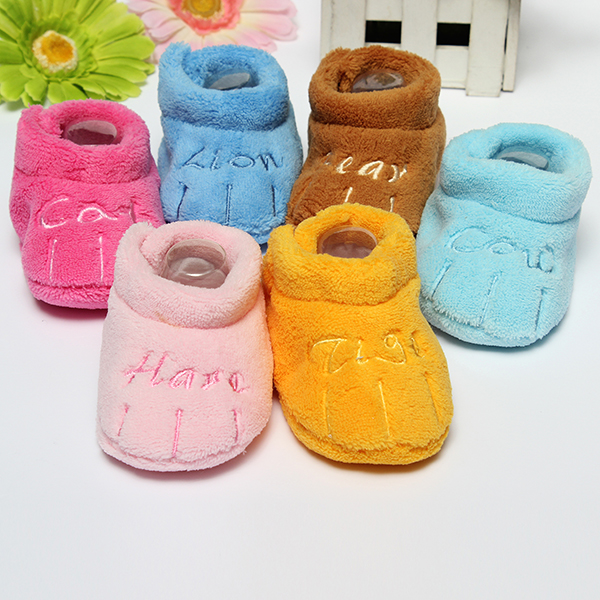 Baby Children Toddler Cotton Skid-proof Soft Sole Shoes