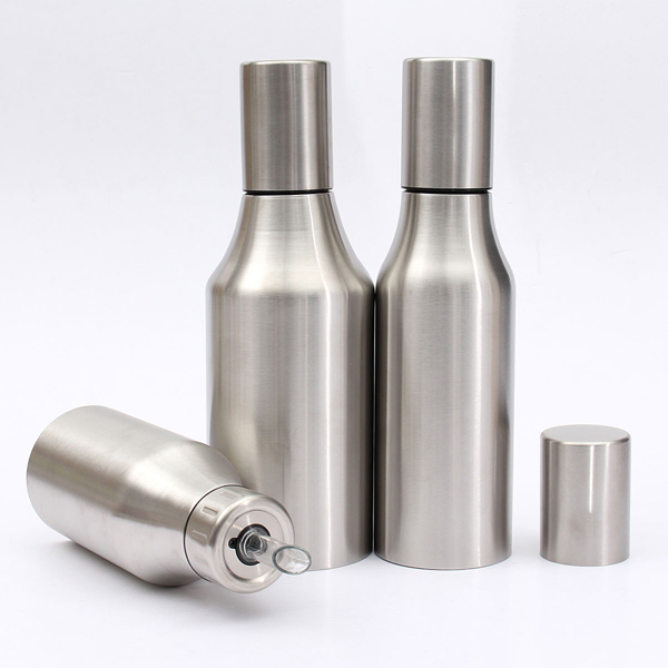 Stainless Steel Leakproof Drop Oil Bottle Sauce Vinegar Kitchen Tools - EachineKitchen Organization<br>Description: Stylish design and easy to use,Stainless Steel,anti-corrosion Design for preventing leak out and keep pot clear Spout design statuesque better control fuel give you healthy life Have reflux means that air backflow, keep the air of pot flow, easy to pour the oil Fits for : Food oil, Vinegar, Wine and so on Suitable: Home, canteen, hotel,restaurant Features &amp; details: Material: Stainless Steel Color: As shown in pictures Weight: 500mL 204g,750mL 233g, 1000mL 276g Size: 500mL 22X 7.4cm,750mL 26X 7.4cm, 1000mL 26X 9cm Volume: 500mL, 750mL, 1000mL Package Included: 1pcs X Sauce Vinegar Bottle Notice: Please allow 1-3mm error due to manual measurement and make sure you do not mind before ordering. Please understand that colors may exist chromatic aberration as the different placement of pictures.<br>