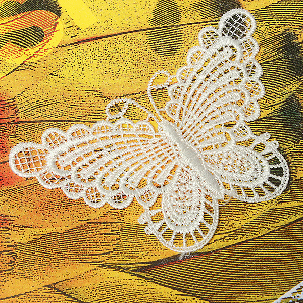 butterfly sewing patchwork