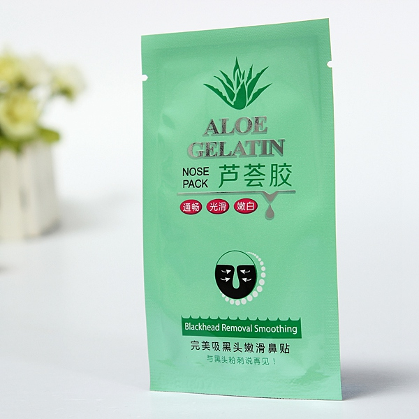 10 PCS Aloe Gel Cleansing Nose Pores Blackheads Removal Conk Mask