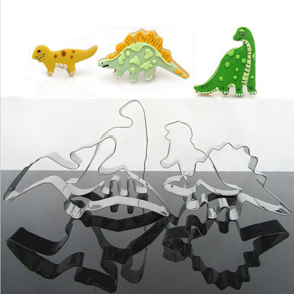 4Pcs Stainless Steel Dinosaur Biscuit Cookie Cutter Tools (Eachine1) Knoxville New search