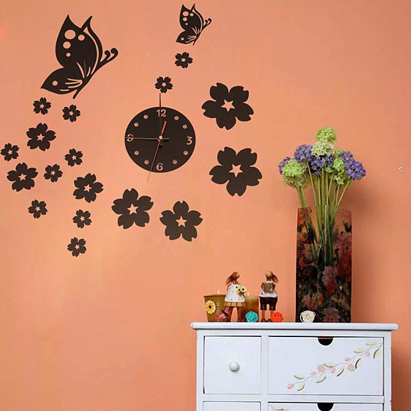2013 3d Best Wall Art Clock Home Decoration Diy Crystal: best wall decor