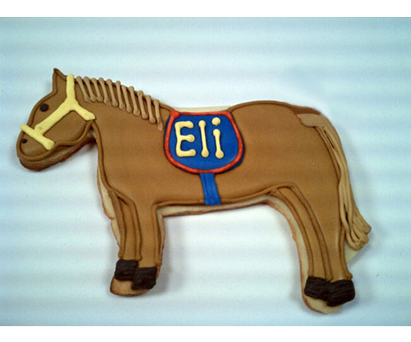 Forma Cavalo Cookie Cutter