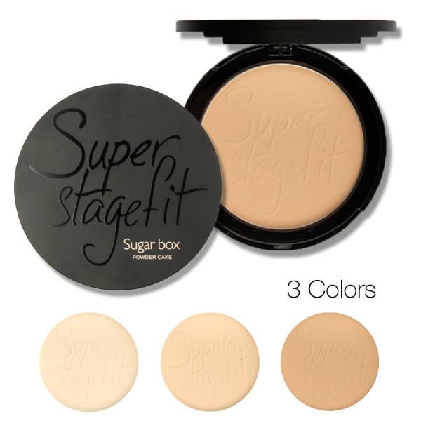 Sugarbox Pressed Powder Compact Face Makeup 3 Colors от Banggood INT