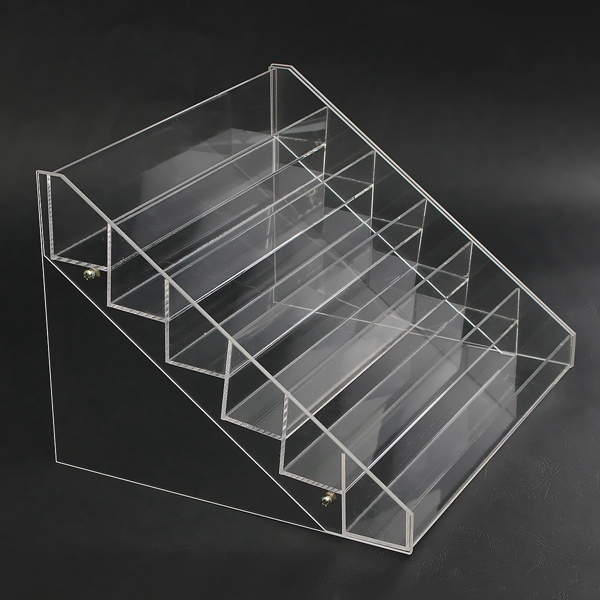 6 Tiers Acrylic Nail Art Polish Display Stand Rack Makeup Organizer
