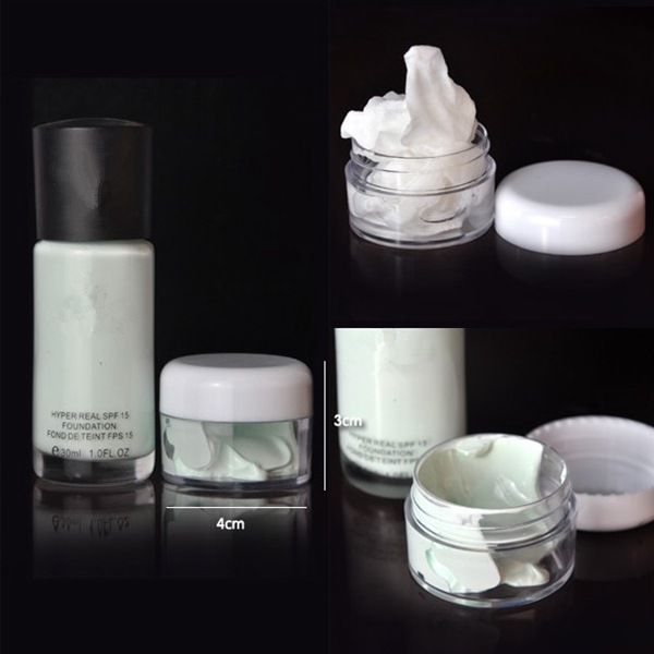 6 pcs Transparent Makeup Emulsion Liquid Empty Spray Refillable Bottle