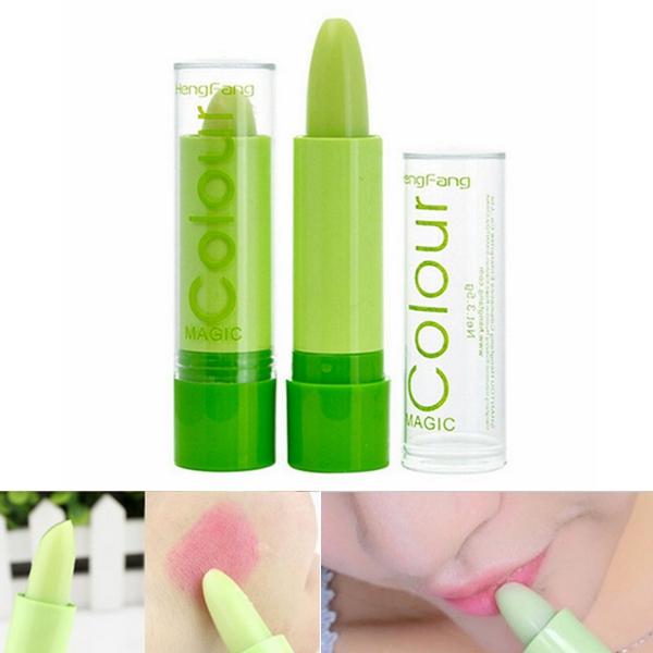 Hengfang Magic Green Color Changing Lip Makeup Long Lasting Lipstick Cosmetic от Banggood INT