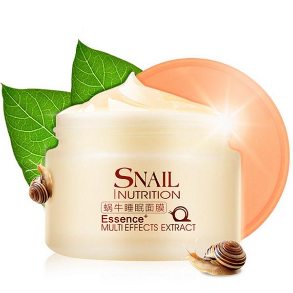 Snail Nutrition Essence Sleeping Mask Repair Moisturizing Whitening