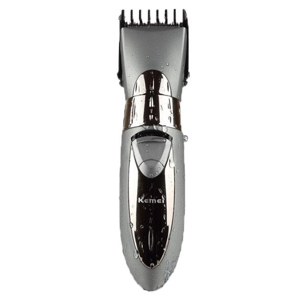 KEMEI KM-605 Waterproof Electric Hair Trimmer Clipper