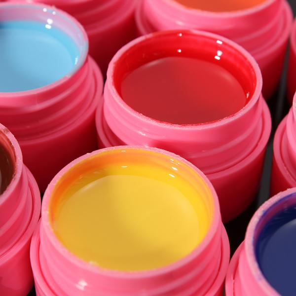 12 Colors Mix Pure Acrylic Nail Art Manicures UV Gel Builder Set