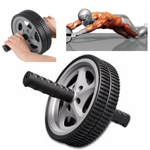 Buy Abdominal AB Wheel Roller Gym Slim Arm Waist Fitness Exerciser